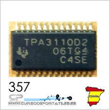 1 Unidad TPA3110 TPA3110D2 Amplificador de audio.