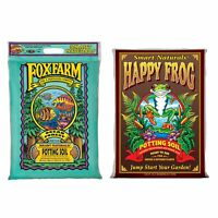 Foxfarm Happy Frog Garden Potting Soil Mix and Ocean Forest Potting Soil Mix