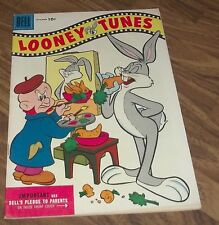 LOONEY TUNES COMICS (MERRIE MELODIES) DELL #167 1955 IN VF-