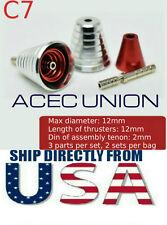 U.S. SELLER - Metal Detail-Up Red Luxury Thruster Set C7 for 1/100 MG Gundam