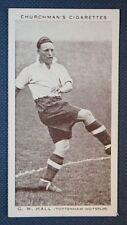 TOTTENHAM HOTSPUR   Willie Hall   Vintage Footballer Photo Card