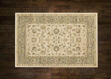Afghan Ziegler Wool like Antique Traditional BEIGE GREEN Rug Runner Round 30%OFF