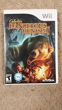 Cabela's Dangerous Hunts 2011 Special Edition Nintendo Wii (S4/A17)