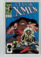 Classic X-Men #10 1987 Arthur Adams Signed
