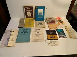 5+ Ford mercury reference books operator manuals 1939-1946-1941-1951 etc lot
