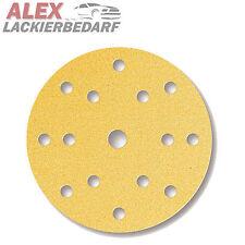100x Exzenter Schleifscheiben Set GOLD Ø 150 mm P150 + P220 + P320 + P400 + P600