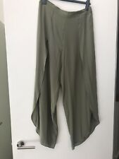 Witchery Limited Edition Size 14 100% Silk Pants