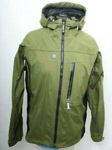 RECCO Summit Series Snowboarding Ski Full Zip Coat Olive jacket Green Men's M