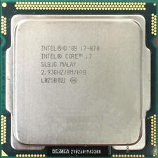 Intel i7-870 2.93 GHz 8MB cache SLBJG