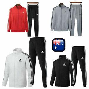 Mens Adidas Originals Firebird Tracksuit Suit Pants Track Jacket Top S 3XL