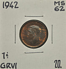 1942 Canada One Cent MS-62