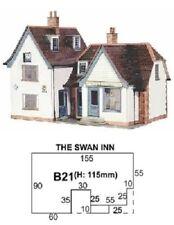 SUPERQUICK CARD KIT - Swann Inn B21 - OO / HO MODEL TRAINS