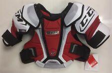 New CCM U+ Pro Stock NHL chest/shoulder pads Sr medium size senior M ice hockey