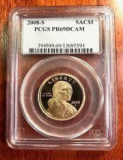 2008-S Sacagawea US Dollar Proof PCGS PR69 DCAM (Deep Cameo Finish) $ coin