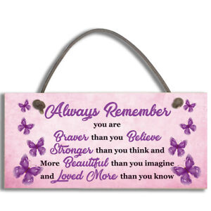 #1096 Always Remember You Are Braver Than You Believe Man Cave Door Plaque Sign