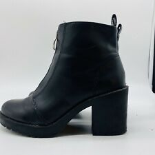 H&M Womens Black Ankle Boot,Size 6