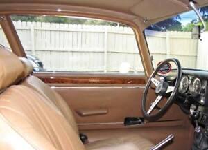 Jaguar XKE,E-Type Walnut Burl Door Wood Capping Pair 4.2 litre,5.3 litre V12