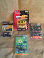 """Nascar 1/64 Diecast Action Collectibles Lot Of 3 And 1 Racing Champions 3.25"""""""