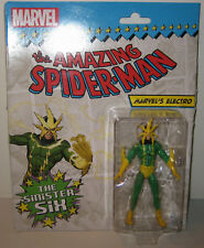 Marvel Universe Infinite Legends Spider-man Villain Electro MOSC