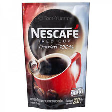 Nescafe Instant Coffee Red Cup Classic Ground Roasted Mixed Finely Thailand 200g