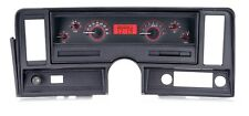 1969-76 Chevrolet Nova Carbon Fiber & Red Dakota Digital VHX Analog Gauge Kit