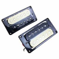 1set of 2 Zebra Faced Humbucker Double Coil Pickups Electric Guitar FP