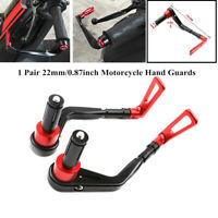 2xCNC Motorcycle Hand Guard Bow Handlebar Brake Clutch Lever Protector Guard Kit