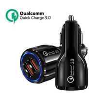 KM_ USB 2 Ports Quick Charging QC3.0 3.1A Mobile Phone Car Charger Power Adapt