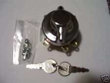 Harley Hummer Ignition Switch Chrome w/ keys NEW (279)