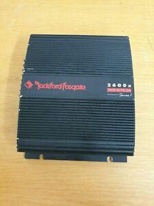 Vintage Old School Rockford Fosgate 2600x Series 1 Amp Verstärker Linear Punch