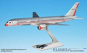 Flight Miniatures American Airlines 40th Anniversary 757-200 1:200 Scale Display