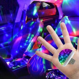 Car USB LED Car Interior Lighting Kit Atmosphere Light Neon Lamps Disco