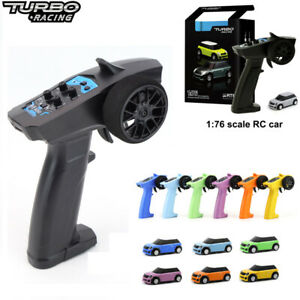 Turbo Racing 1:76 RC Car 2.4GHZ Mini Full Proportional Electric Race RTR Car Kit