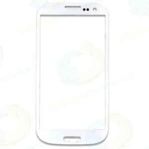 Samsung Galaxy S3 i9300 Touch Screen Glass Digitizer Lens Replacement - White