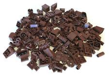LEGO Brown Bricks Mixed Bulk Lot 100+ Pieces GOOD VARIETY Parts Plates Tiles