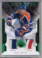 11/12 Upper Deck Artifacts Paul Coffey Emerald Dual Patch #'ed 06/65