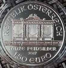1 Unze Silber Münze Wiener Philharmoniker 2017 in Kapsel alle Jahrgänge erhältl