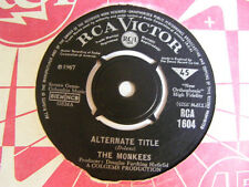 """THE MONKEES Alternative Title Ex RCA Victor UK 1967 7"""""""