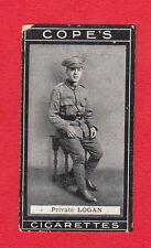 COPE BROS. & CO. LTD. -  VERY  RARE  MILITARY / BOXERS  CARD  -  NO. 120 -  1915