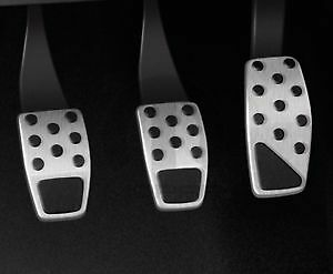 2017-2021 Jeep Compass Mopar Stainless Steel Pedal Covers 82214268