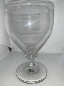 Good Early 19c Hand Blown Glass Rummer Drinking Glass