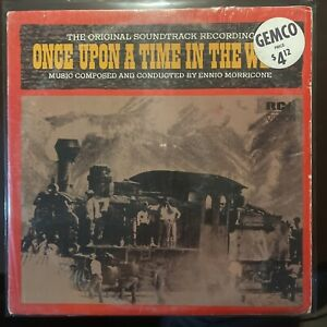 1972 ENNIO MORRICONE Once Upon A Time In The West Original Soundtrack LP Shrink