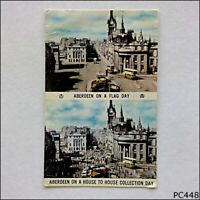Aberdeen On A Flag Day & House Collection Day 1975 Postcard (P448)