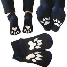 Paw socks bear dog paws pet tracks footprint gift present novelty cotton sock