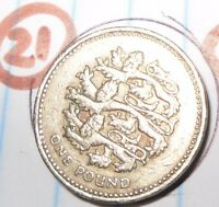LAST CHANCE ( (£1)) ONE POUND COINS RARE BRITISH COINS 1983-2015