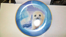 The Franklin Mint Heirloom:Playing Hide & Seek, Baby Seal, Limited Edition