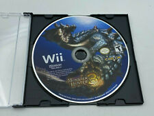 Monster Hunter Tri 3 Nintendo Wii 2010 Disc Only Video Game Tested Rpg