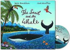 Snail & the Whale Book & CD-ExLibrary
