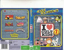 I Love Cult Kids-Danger Mouse/Count Duckula ++[7 Cult Classics]-Animated CC-DVD