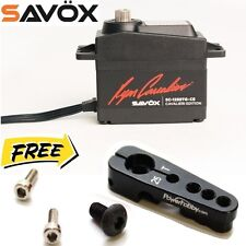 Savox SC1258TG-CE Coreless Digital Servo Ryan Cavalieri Edition + 25T Horn Black